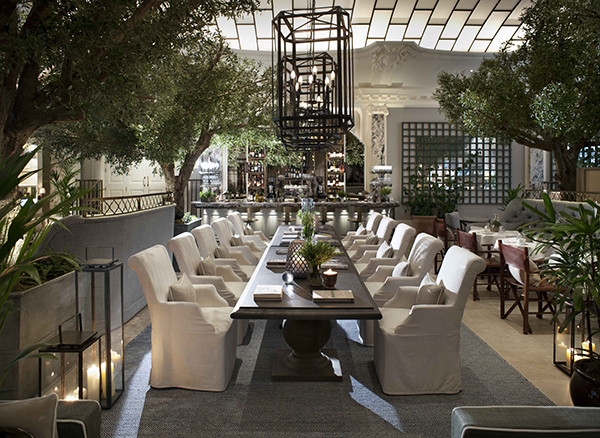 The Palm Court at the Kimpton Fitzroy London