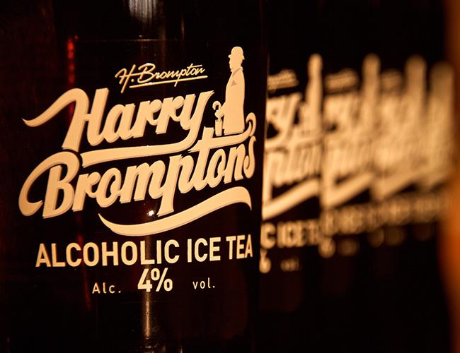Harry Brompton's alcoholic ice tea