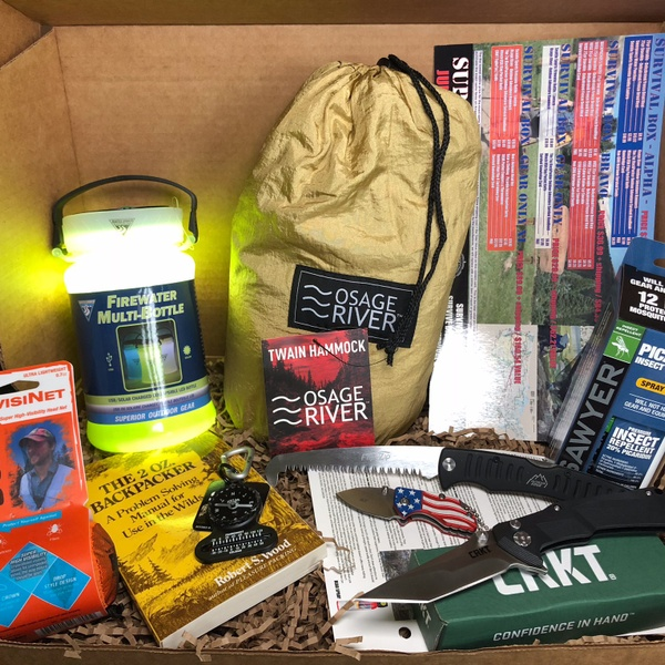 SURVIVAL BOX - GEAR ONLY XL  JULY 2018