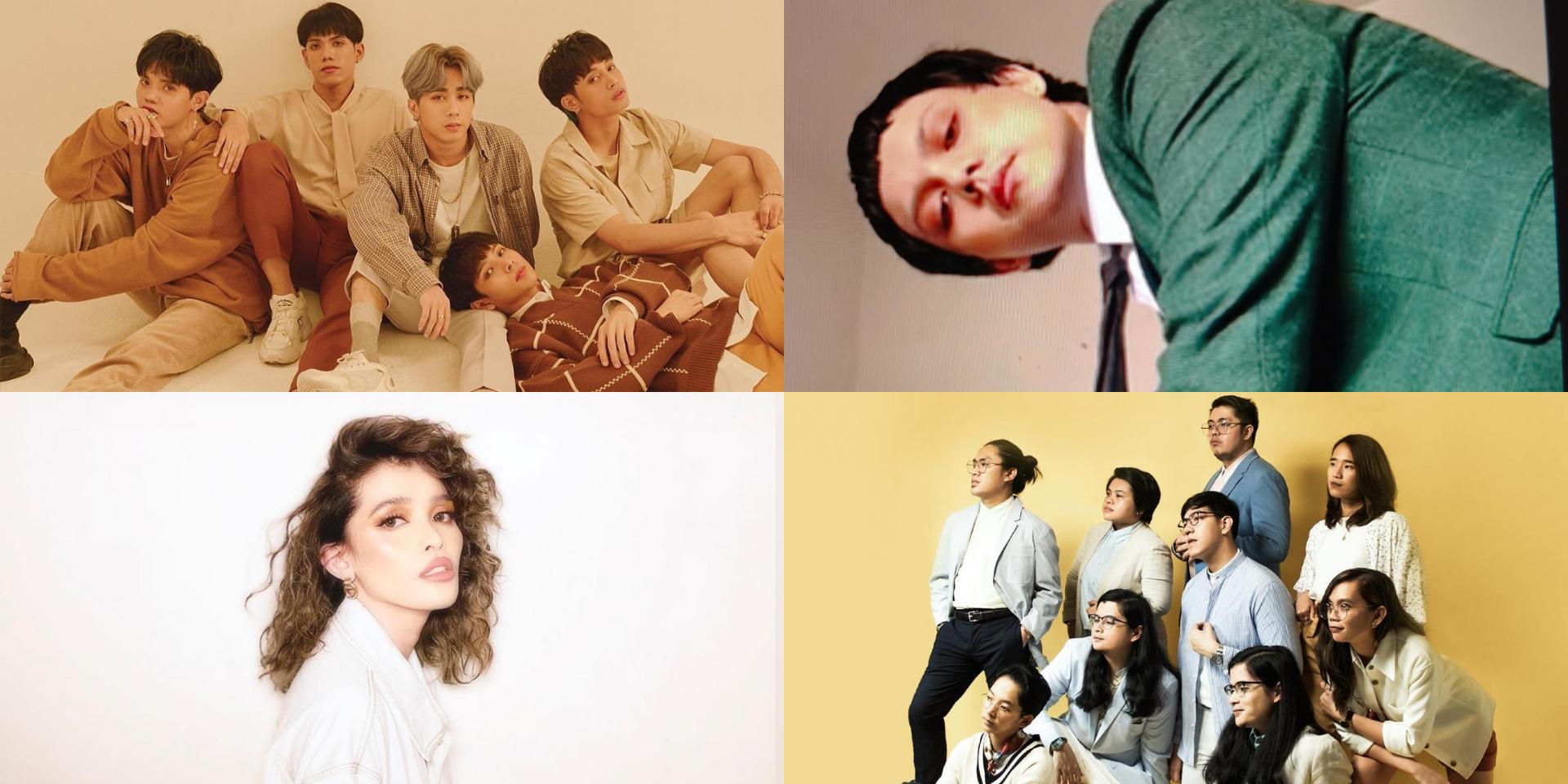 SB19, Ben&Ben, Zild, KZ Tandingan, December Avenue, and more to perform at the 33rd Awit Awards