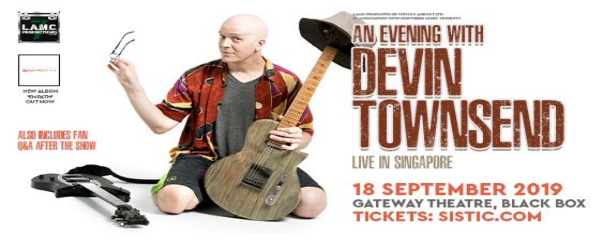 An Evening with Devin Townsend - Live in Singapore