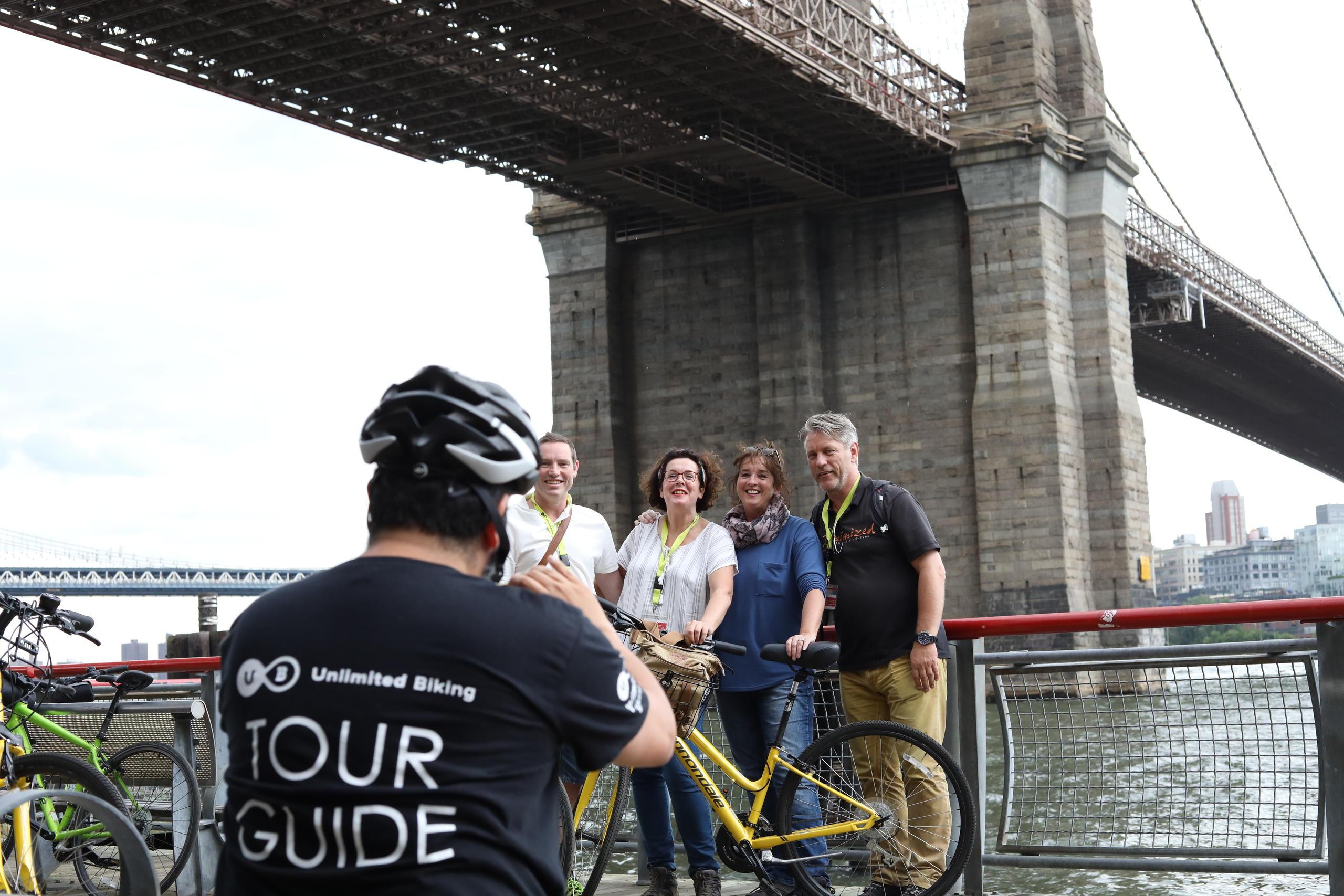 1-Day The Brooklyn Bridge at Twilight Bike Tour