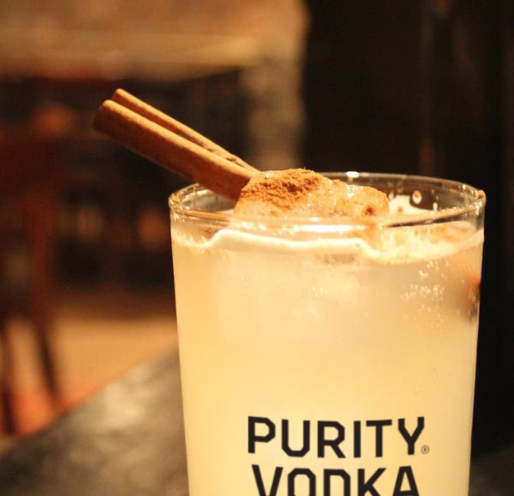Halloween drink from Purity Vodka