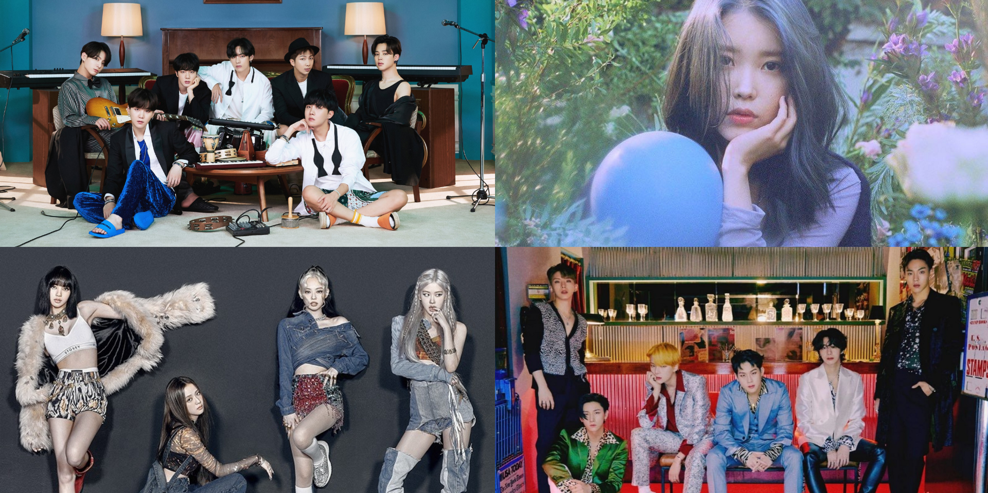 BTS, BLACKPINK, MONSTA X, IU, and more win at the 2020 Melon Music Awards - see the list of winners