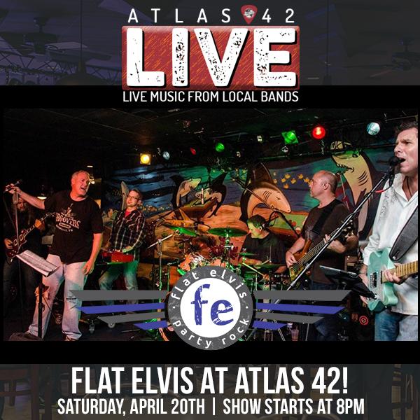 Atlas 42 - Flat Elvis - April 20, 2019