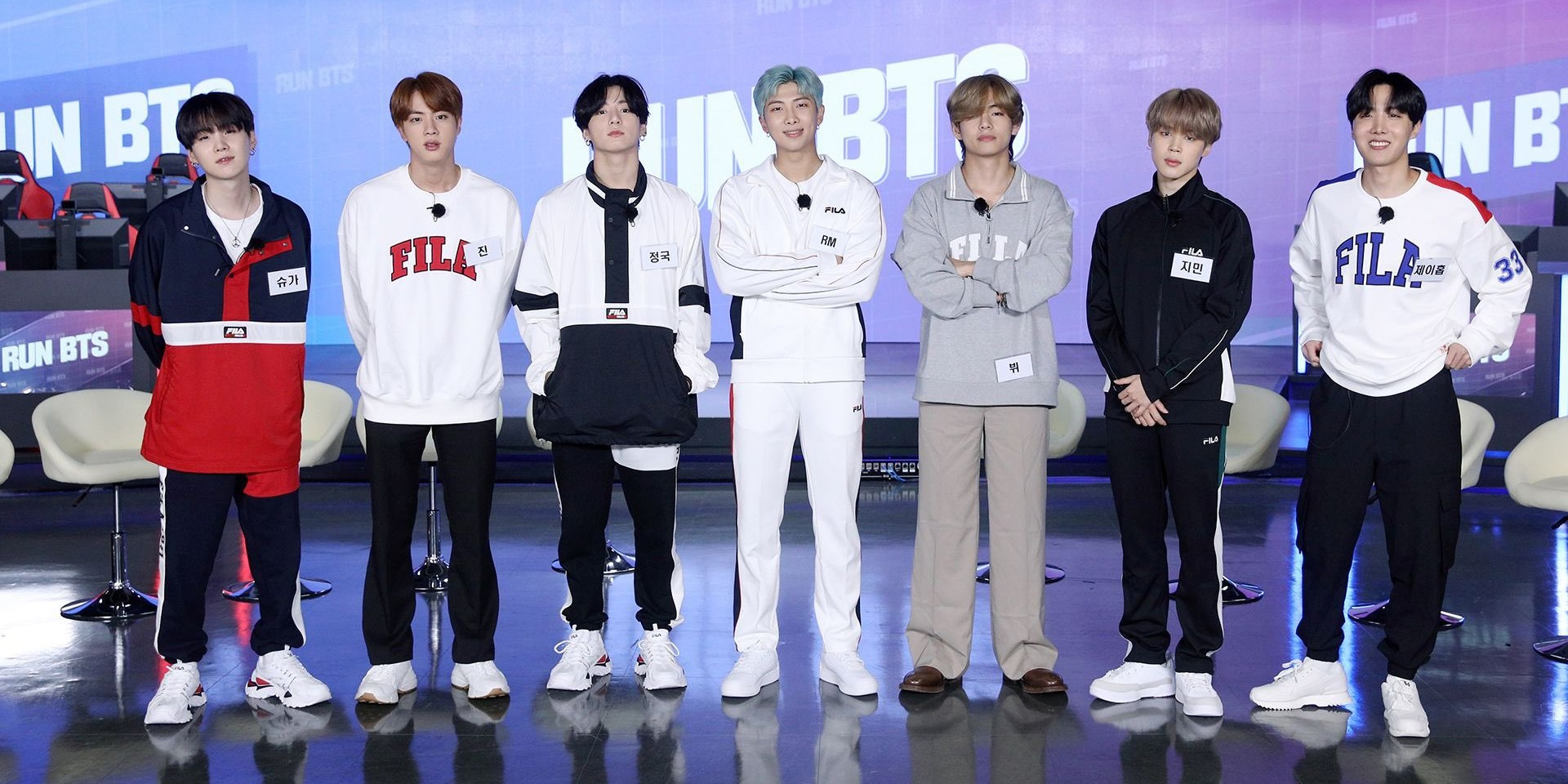 League of Legends team T1 guest on Run BTS to play Gang Beasts and Fall Guys