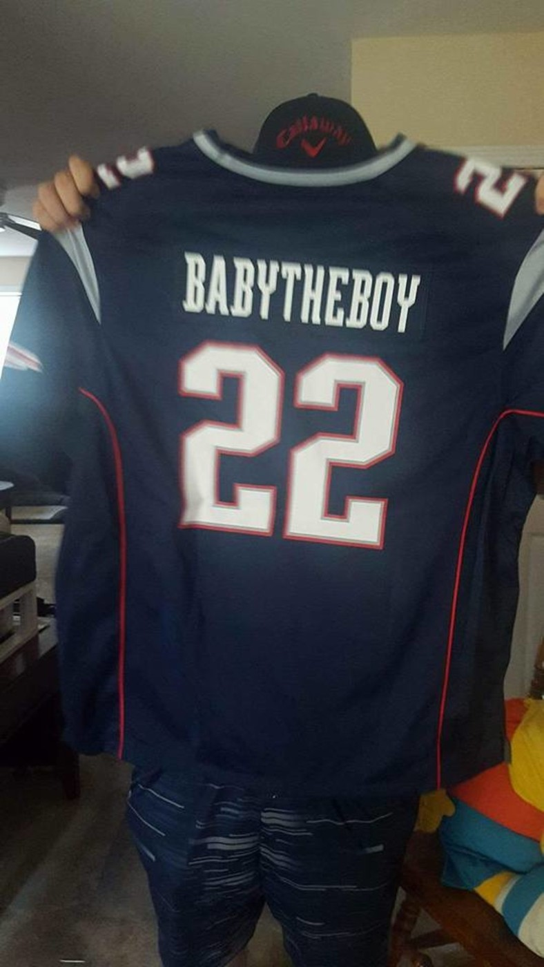sports shoes 79aaa bf9a2 New England Patriots Customized Jersey | Collectionzz
