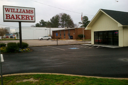 Williams Bakery at Highland Springs
