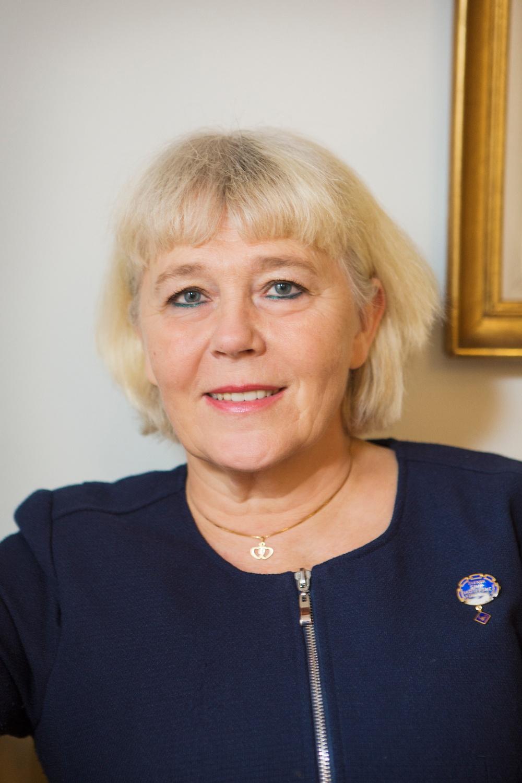 Foto av Ami Hommel, ordförande, Svensk sjuksköterskeförening. Foto: Tomas Södergren