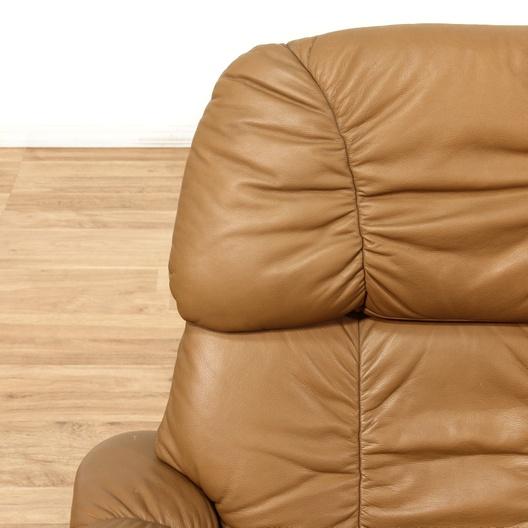 Modern Brown Recliner Swivel Chair Amp Ottoman Loveseat