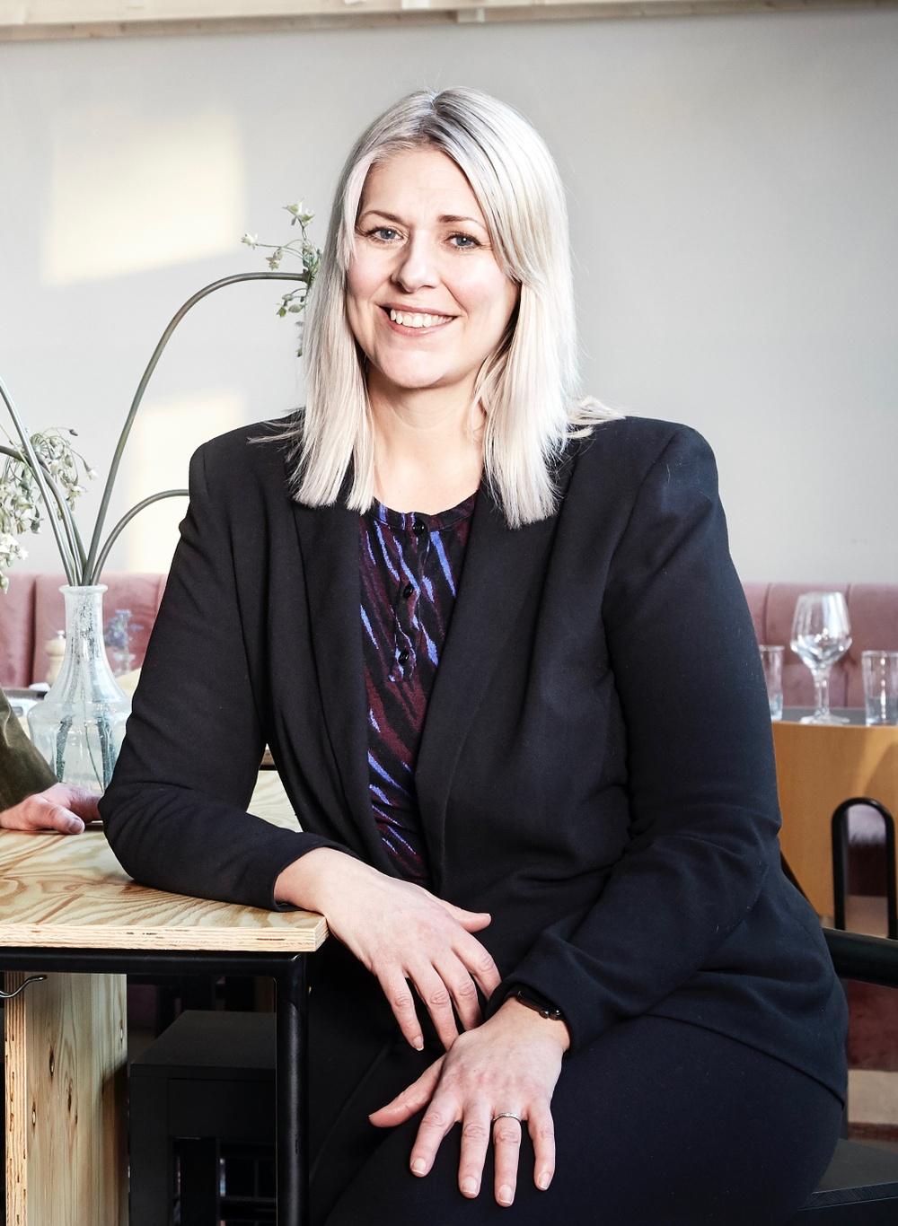 Foto: Erika Lidén Petra Kangas är kommunikations- och försäljningschef på Norrlandsoperan.