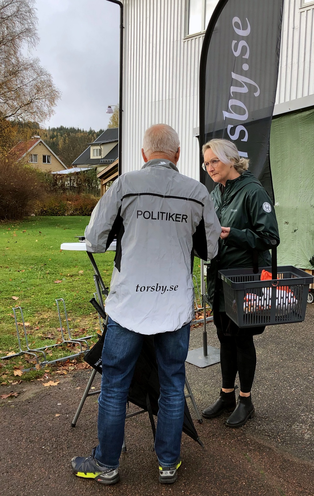 Vision Torsby 2040-arbete. Medborgardialog i Stöllet, hösten 2020. Foto: Sara Johansson.