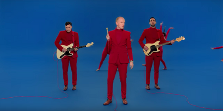 Two Door Cinema Club play with illusions in hilarious new 'Talk' music video – watch