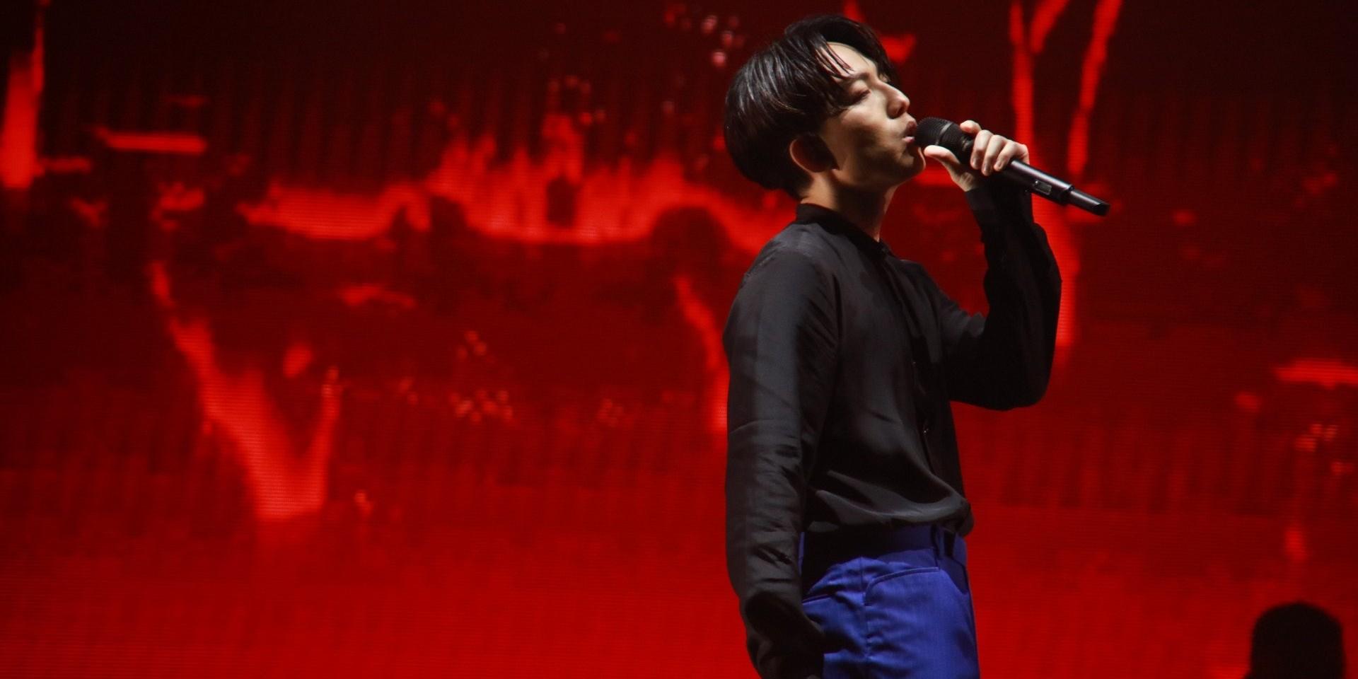 """林宥嘉""""idol""""世界巡回演唱会新加坡站宣布延期"""
