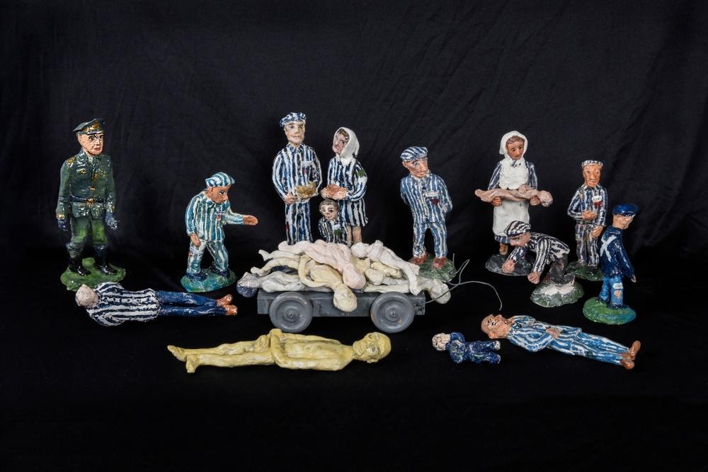 Inger Gulbrandsens lerdockor Foto: Viveca Ohlsson, Kulturen