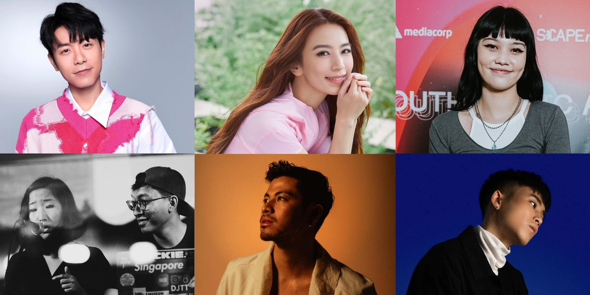 Here are the nominees of the 14th Freshmusic Awards — Benjamin Kheng, Hebe Tien, WeiBird, Shye, .gif, Ryota Katayama, and more