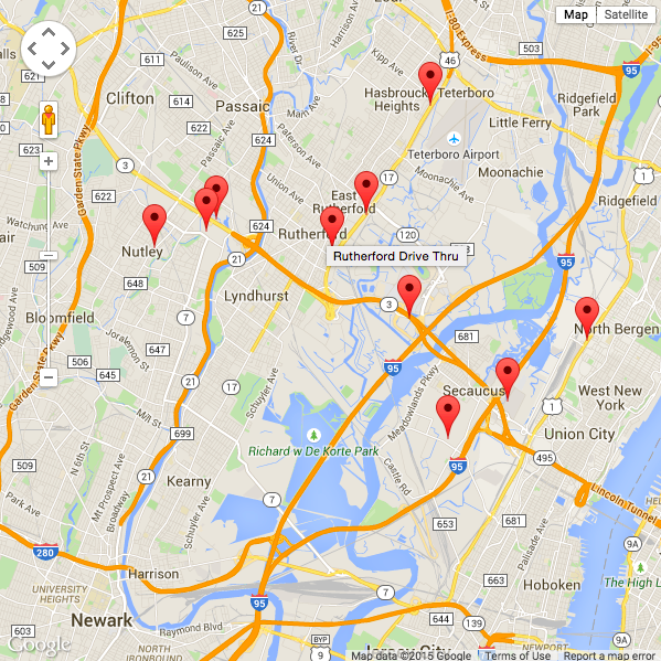 Drawing A Google Map With Markers From An Api on Latest Python File Write
