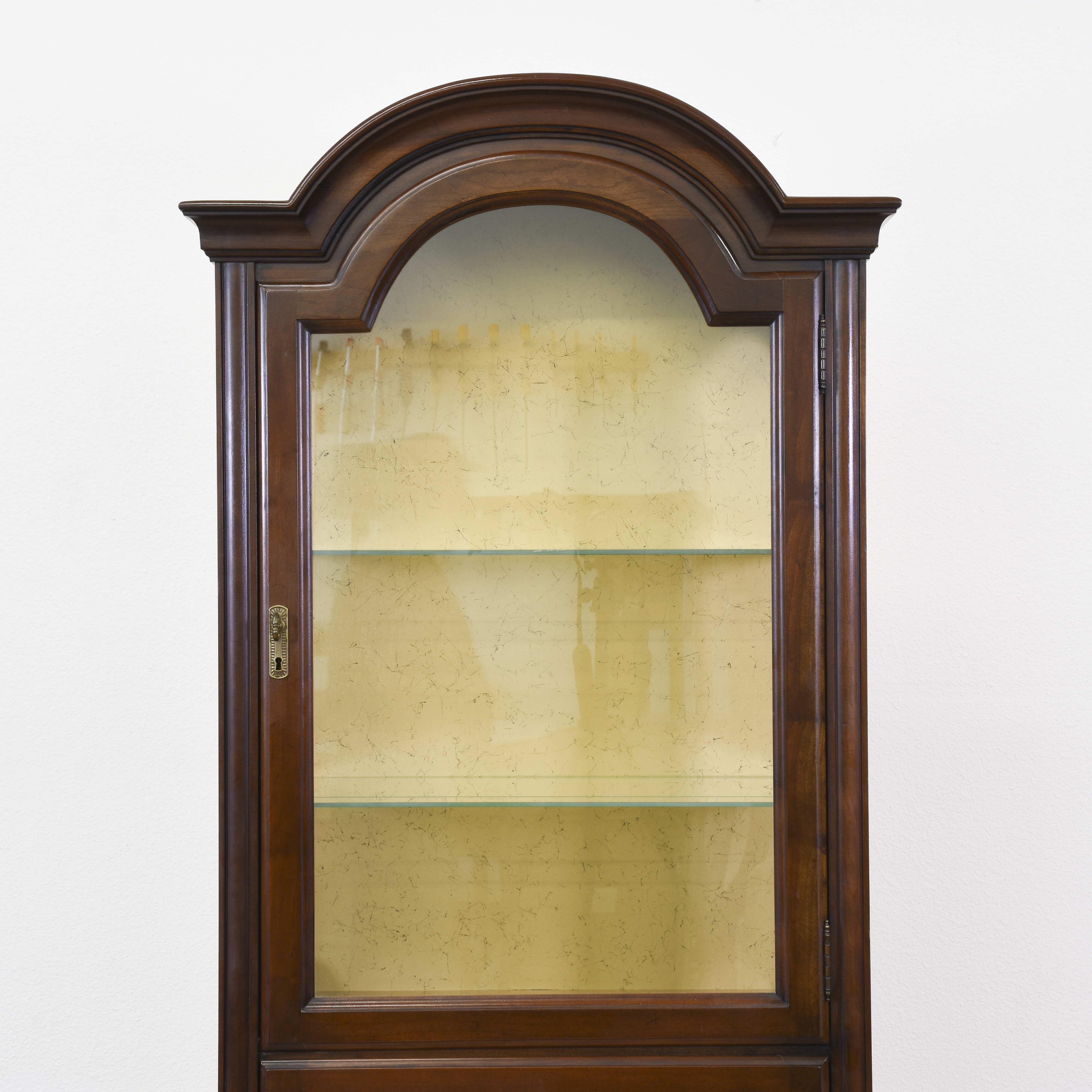 H Cabinets San Diego Neoclassical Mahogany Curio Cabinet Display Unit . H  Cabinets San Diego ...