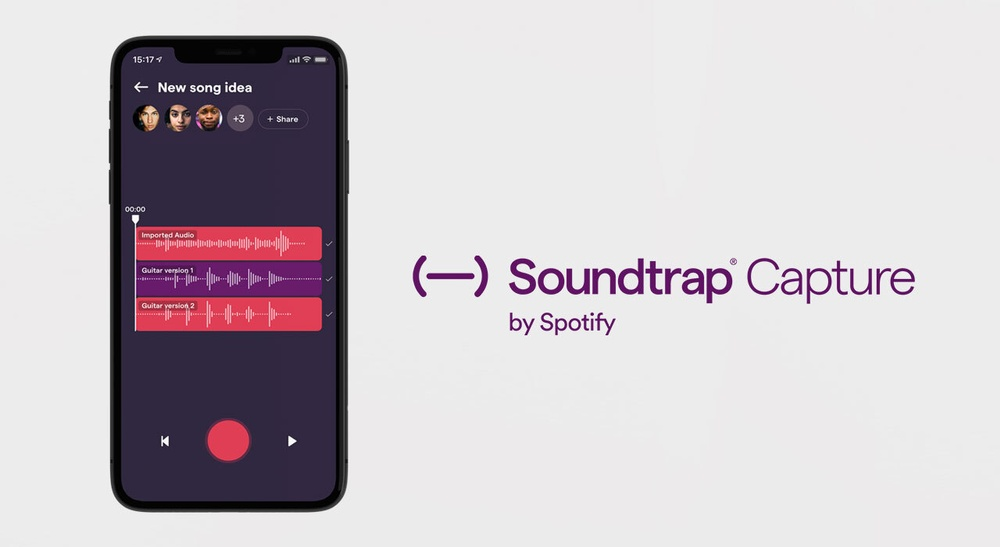 Soundtrap Capture, by Spotify
