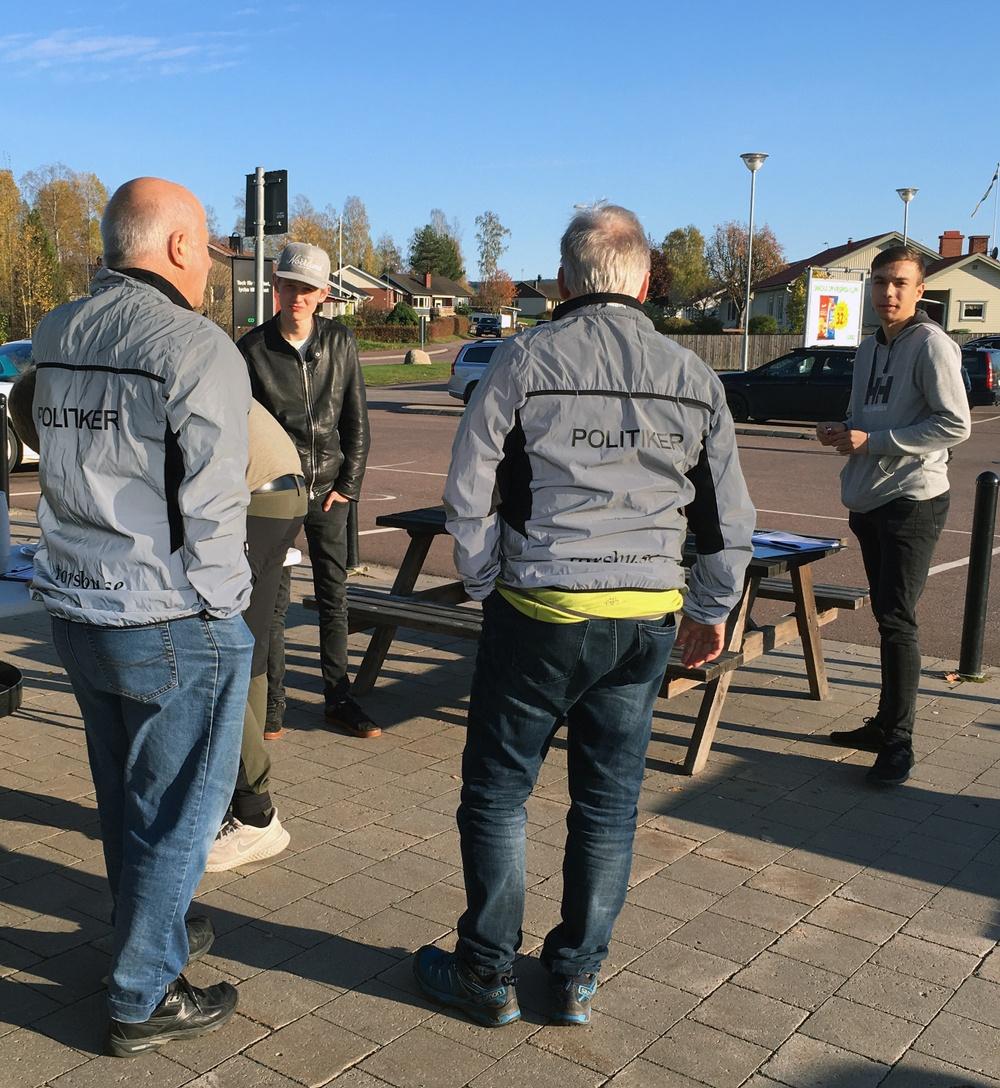 Vision Torsby 2040-arbete. Medborgardialog i Torsby tätort, hösten 2020. Foto: Sara Johansson.