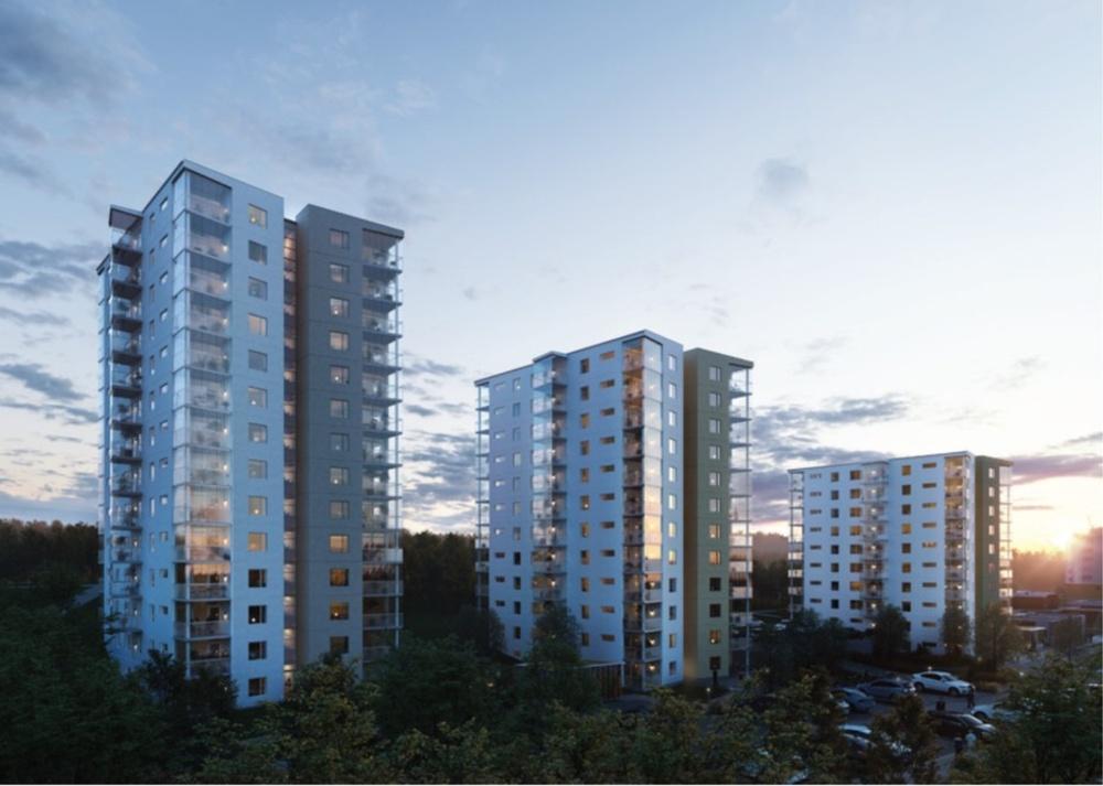 Residential development in Jönköping, Sweden