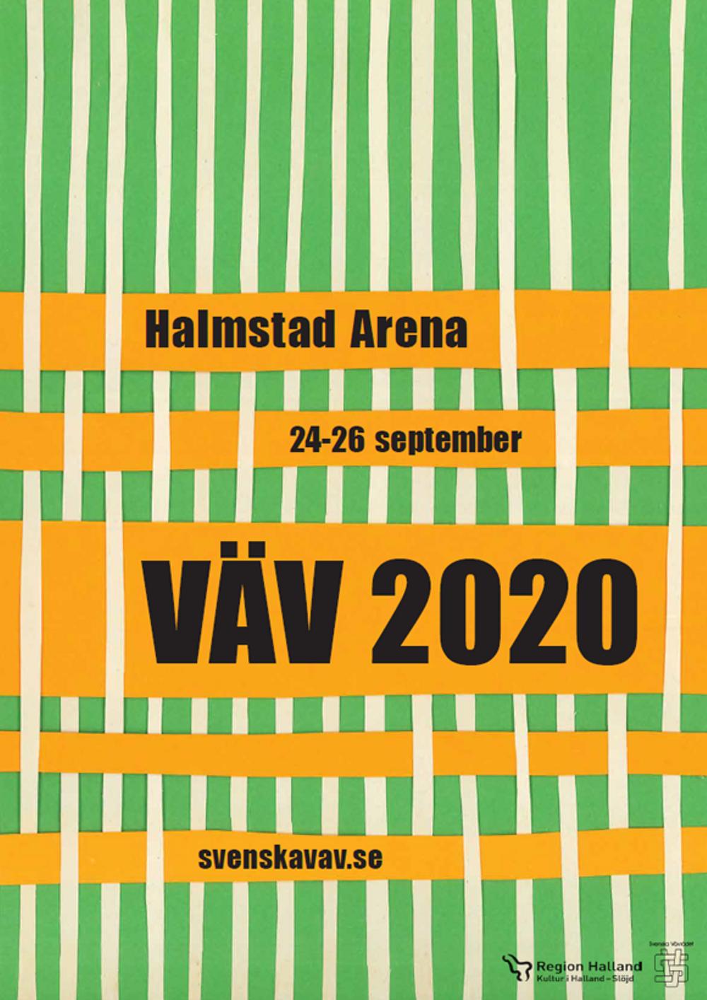 Halmstad Arena, 24-26 september, VÄV 2020, svenskavav.se.