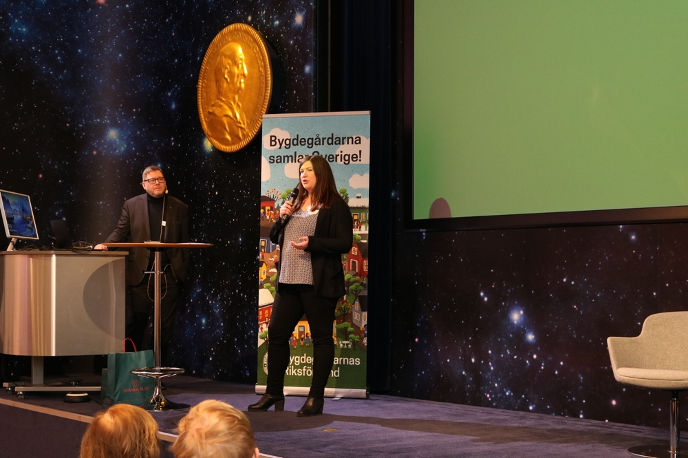 Per Lodenius, förbundsordförande och Karin Fälldin, förbundschef, Bygdegårdarnas Riksförbund. Foto: Jenny Dahlerus