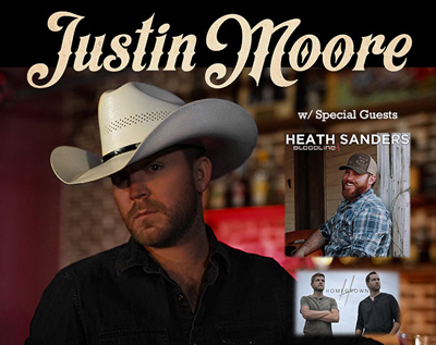 FOTF Concerts - Justin Moore - October 1, 2020, doors 5:30pm