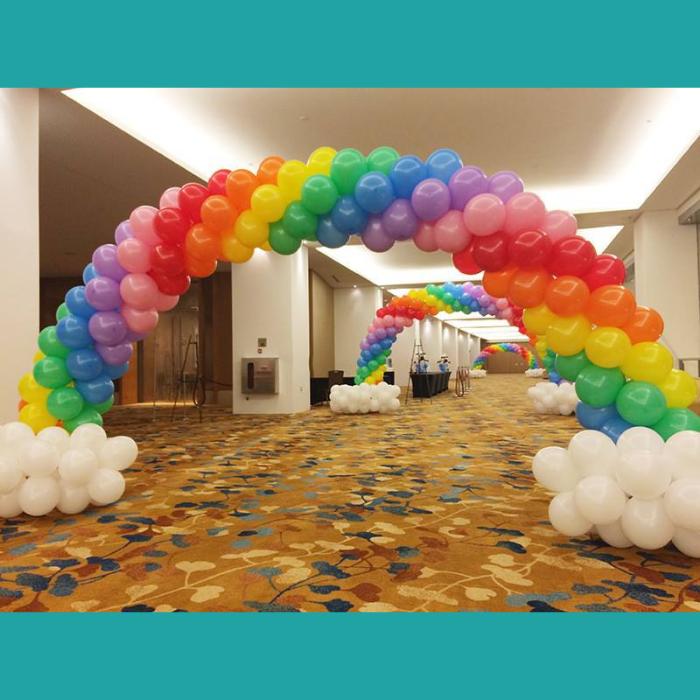 Indoor Balloon Arch