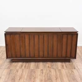"""""""Zenith"""" Mid Century Modern Record Stereo Cabinet"""