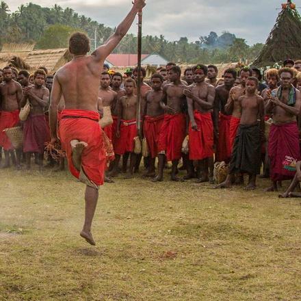 Papua New Guinea Firedance Festival