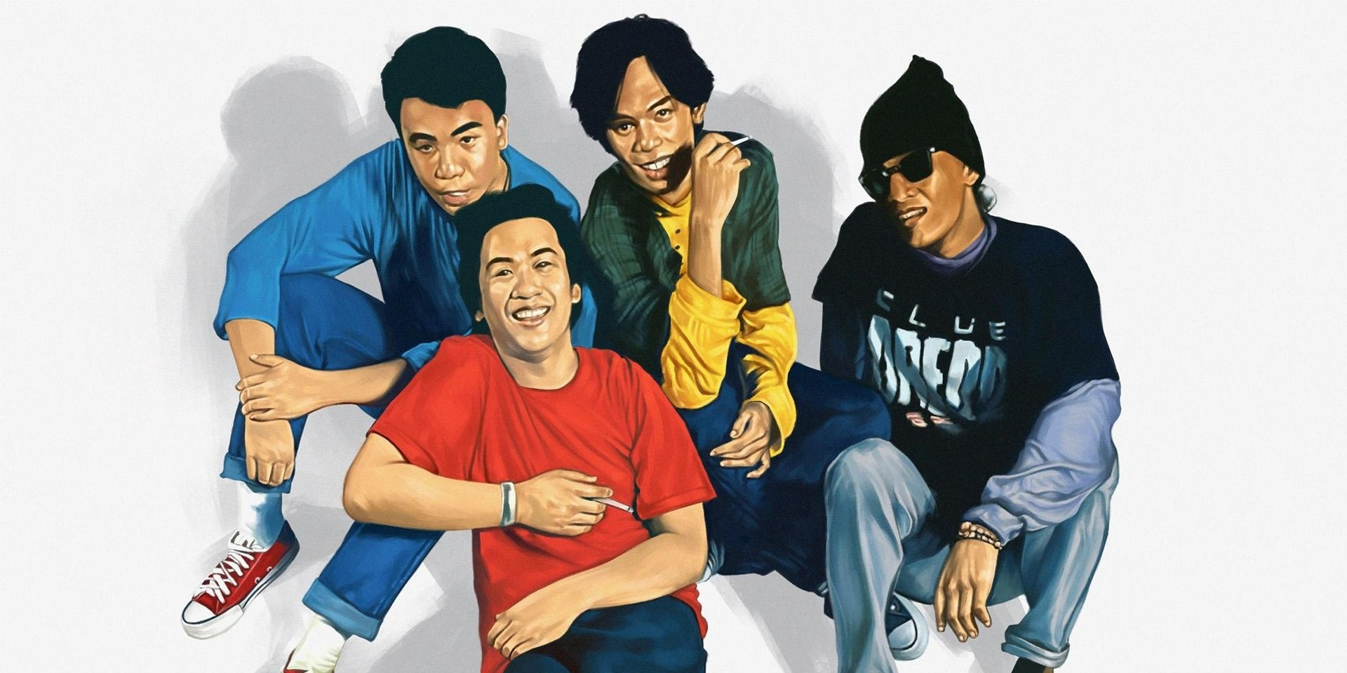 Linya-Linya team up with Eraserheads for special collaborative shirt