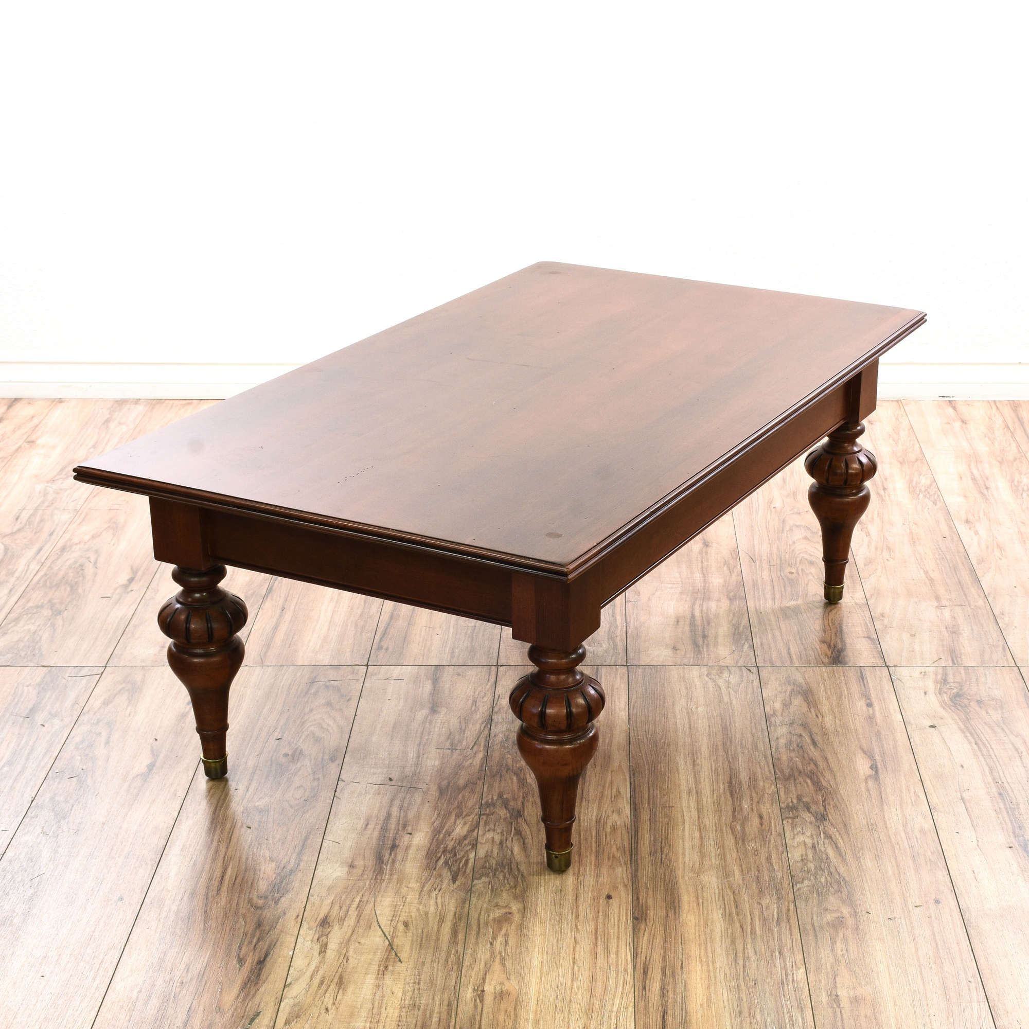 "Traditional Coffee Tables Ethan Allen: ""Ethan Allen"" 1 Drawer Coffee Table"