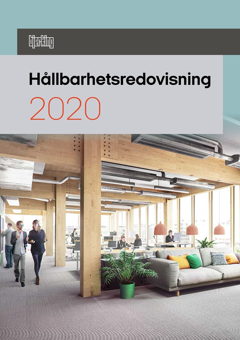 Bjerking Hållbarhetsredovisning 2020