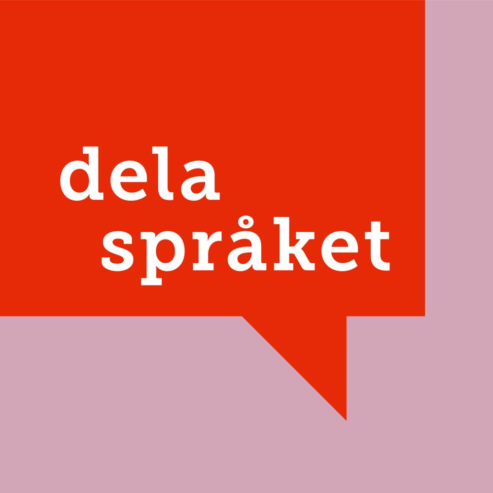 Logotyp för Dela Språket