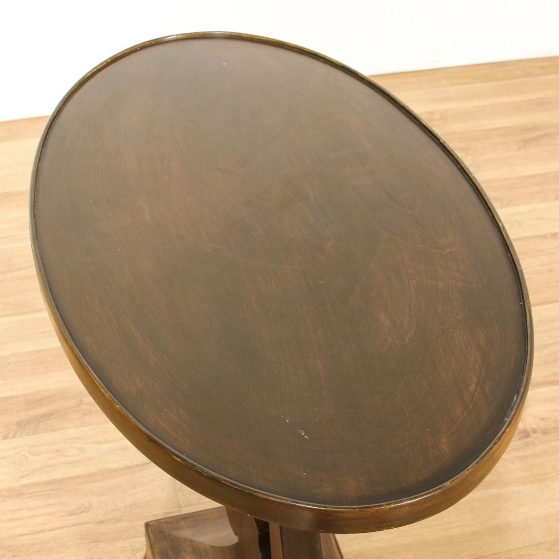 Lyre Base Oval Lamp Table Loveseat Vintage Furniture San Diego Los Angeles
