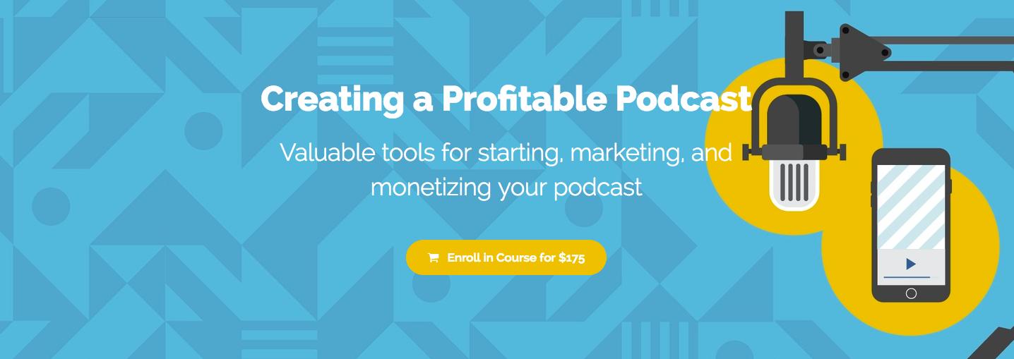 profitable podcast