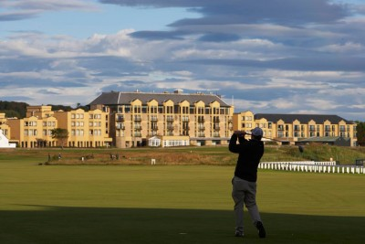 Old Course hotel in St Andrews