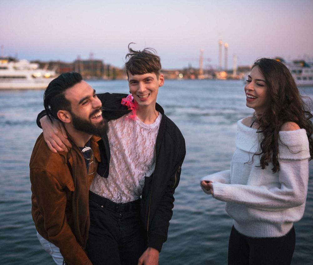 Ungdomar Stockholm vatten
