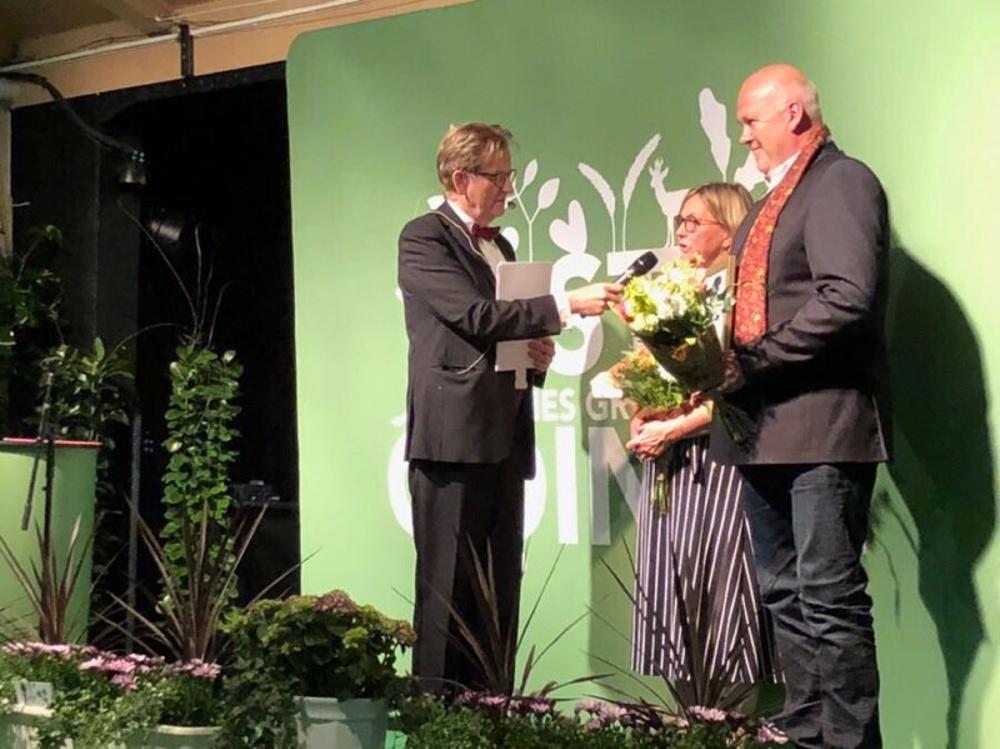 Anne och Sven Norup får ta emot Innovationspriset i Östra Göinge.