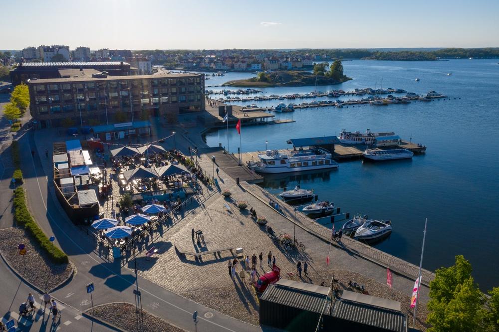 Fisktorget i Karlskrona.
