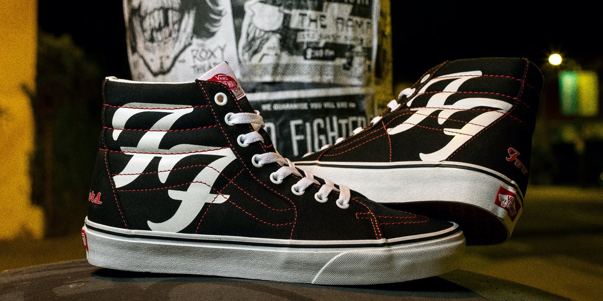 Foo Fighters celebrate 25th anniversary with special edition Vans Sk8-Hi