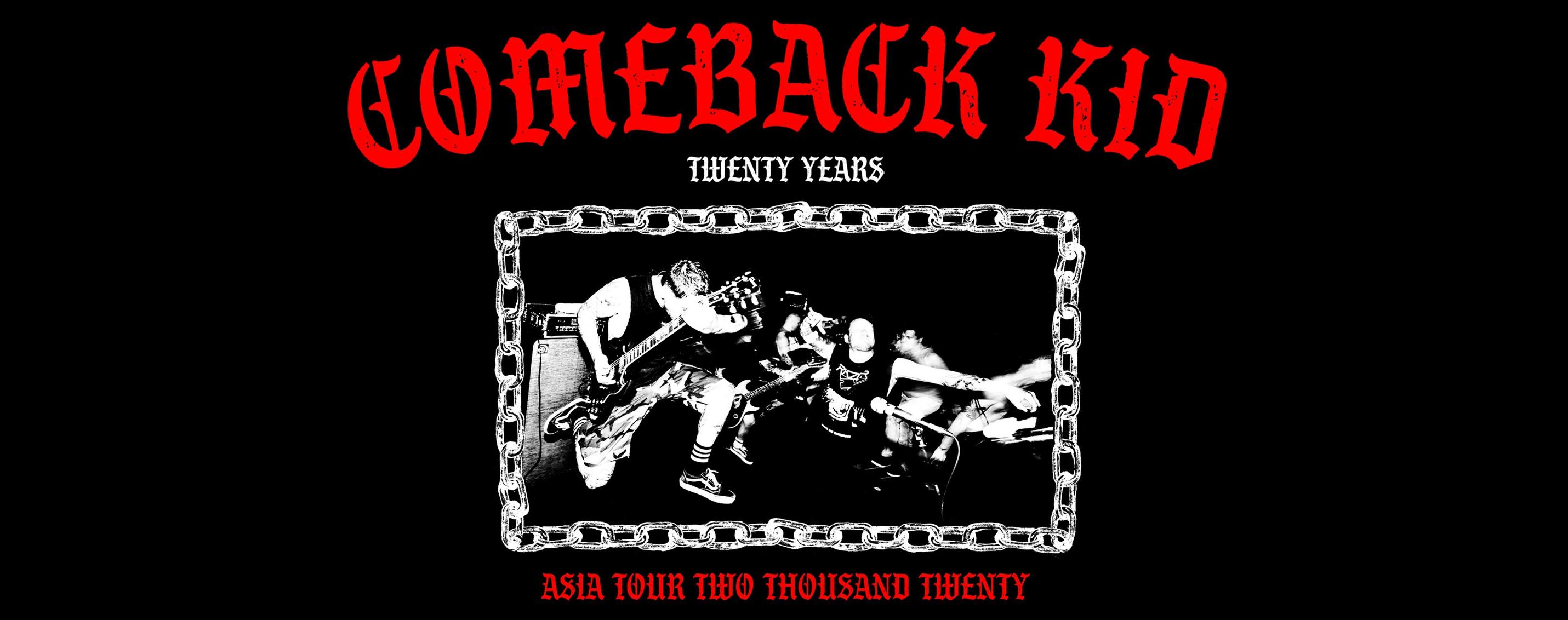 Comeback Kid Live In Singapore