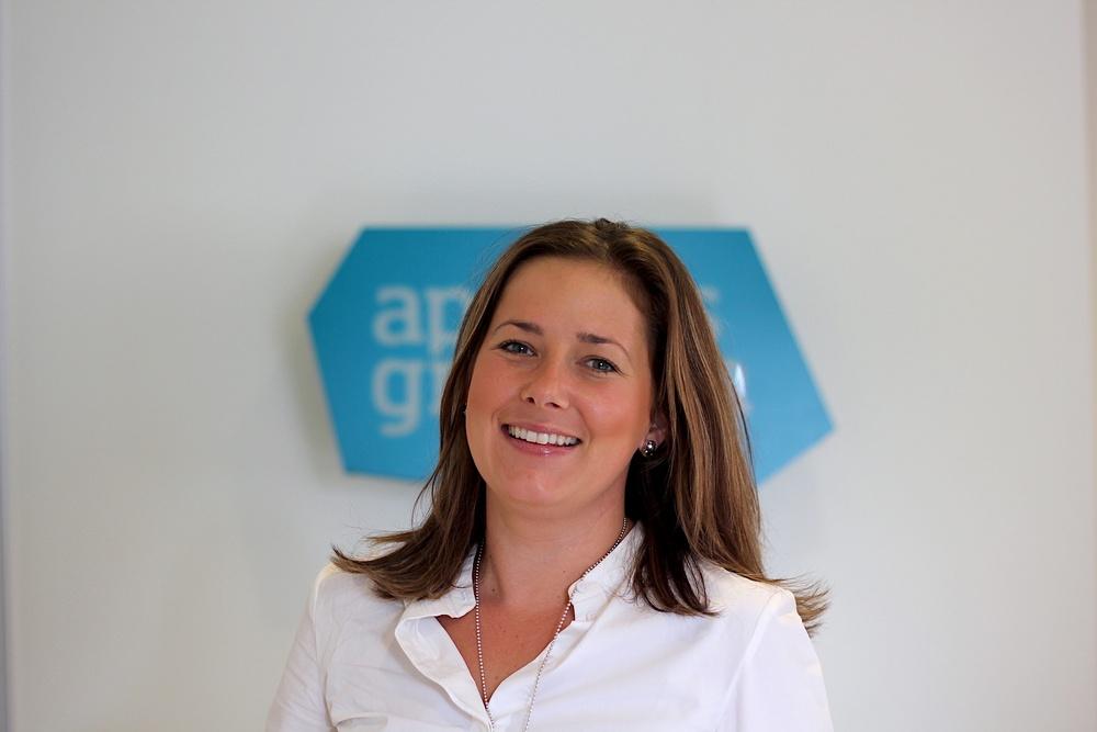 Sofie Almqvist Gärtner, People Director på Apoteksgruppen. Foto: Emil Stighäll