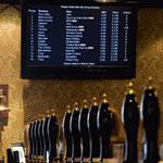Wellington beer board