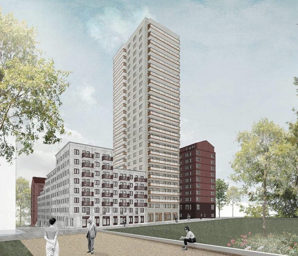Nästa kvarter i Årstahusen kommer att bestå av cirka 320 bostäder och det kommer bli både bostadsrätter och hyresrätter.
