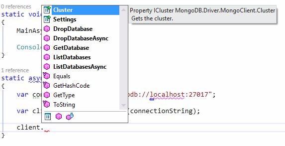 mongodb net