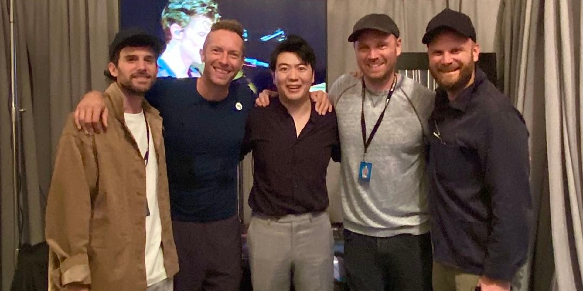 Chinese classical pianist Lang Lang joins Coldplay to perform 'Clocks' at Global Citizen Live 2021