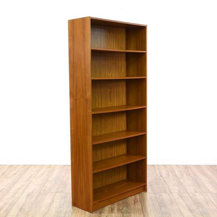 Mid century modern wall unit bookcase bar display loveseat vintage furniture san diego los - Modern bookshelf wall unit ...