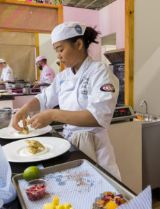 Young National Chef of the Year finalist Supatthra Viriphan